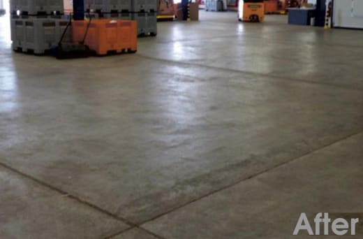 Increase hardness of concrete up to 80%
