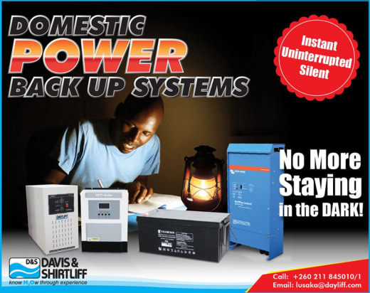 Domestic power backup systems