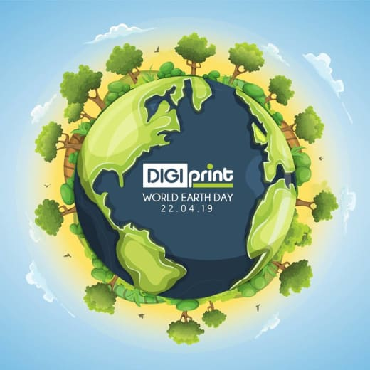 Earth Day promotion at Digiprint Zambia