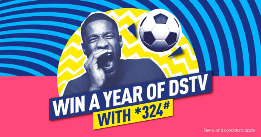 Win a year of DSTV with *324#