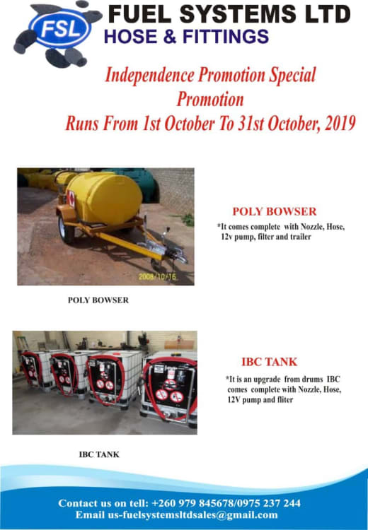 Discounted poly bowser and IBC tank