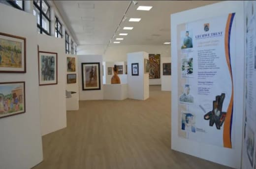 Lechwe Trust Art Gallery supports local artists