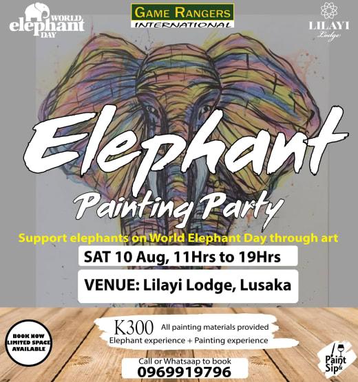 Support Elephants on World Elephant Day through art