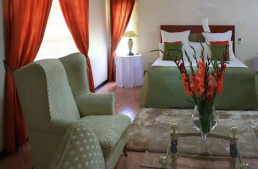 Accommodation with a unique atmosphere of freshness and tranquillity