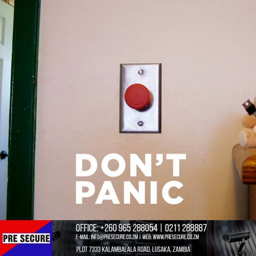 Alarms, panic and response