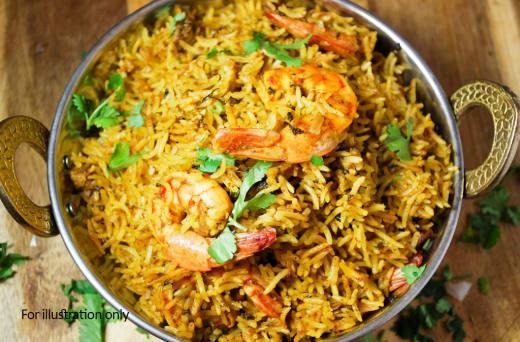 Biryani & Rice - Prawns Biryani