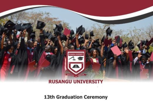 Rusangu holds 13th Graduation Ceremony