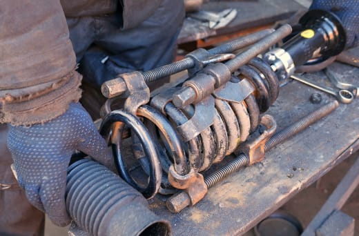 Recommends having your shocks inspected at the first sign of potential wear and tear