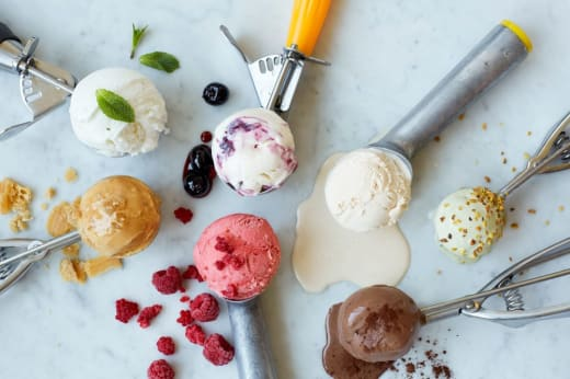 Gelato ice creams now available at The Grill Shack