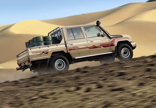 Land Cruiser 79- single and double cab