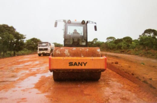 For quality road construction and maintenance services call Wah Kong Enterprises