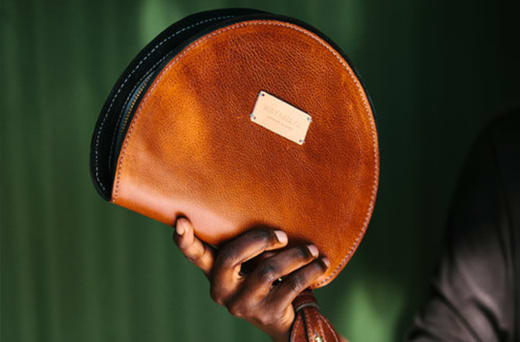 High quality leather handbags, clutches and wallets