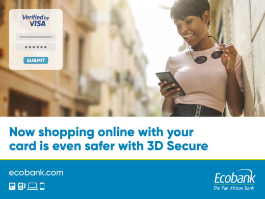 Shopping with cards made safer with 3D secure