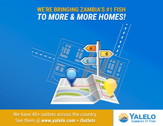 Get to a Yalelo outlet today and buy some fresh or frozen fish