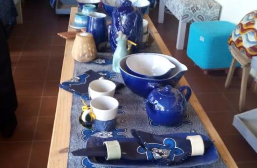 Full range of handcrafted ceramics