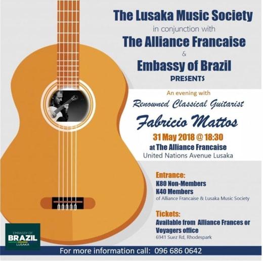 Brazilian Classical Guitarist Performance