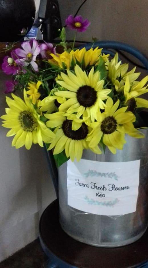 Farm fresh flowers available daily