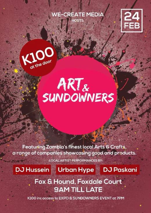 Zambian Art Expo and Sundowners