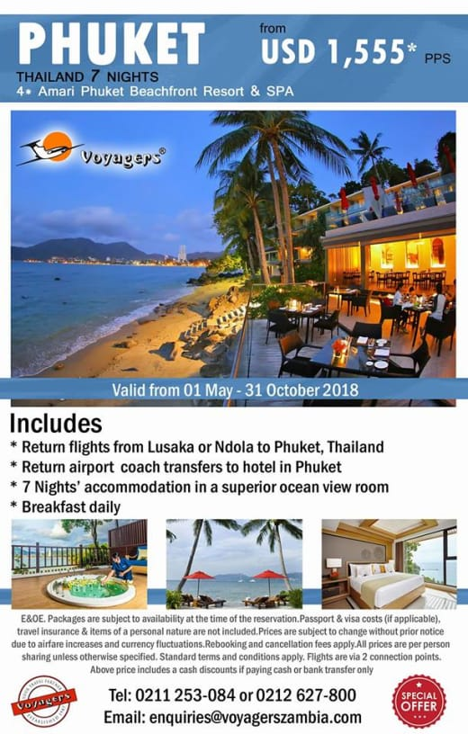 Thailand 7 nights package