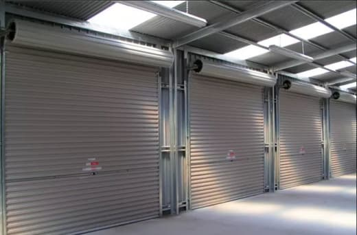 Roller shutters, security gates and burglar bars