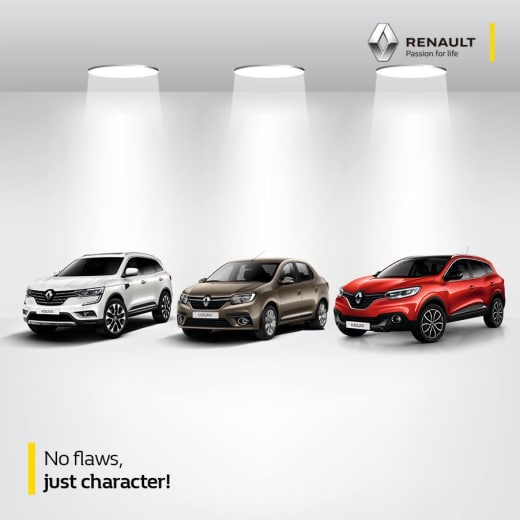 Check out the Renault Zambia range online