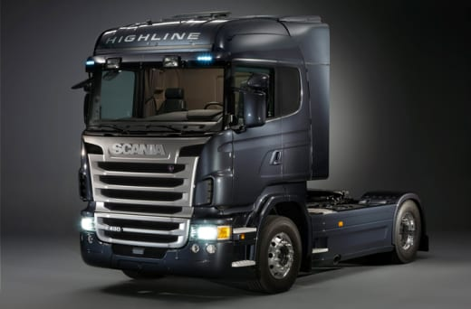 Scania trucks from Hazida Motors
