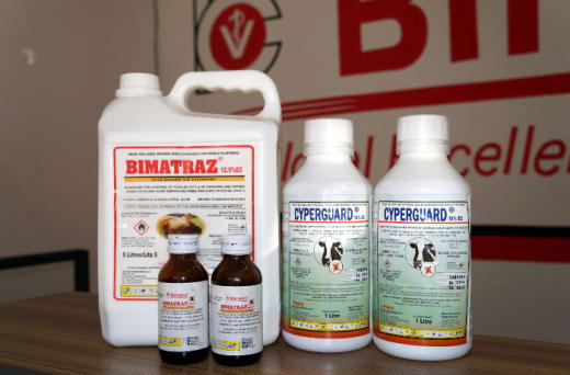 Full range of animal health care products