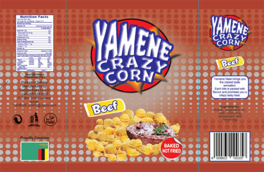 New from Yamene Naks Investments - Yamene Crazy Corn - Beef