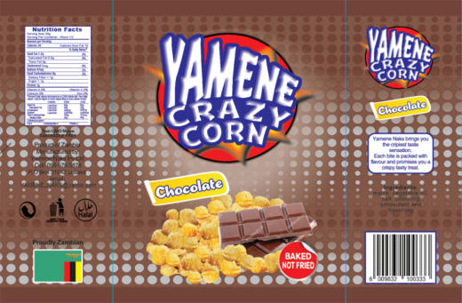New from Yamene Naks Investments - Yamene Crazy Corn - Chocolate