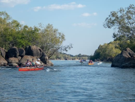 Kaingu Lodge helps out with RowZambezi Expedition