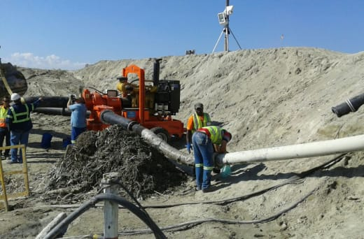 Powerful and reliable pumps for hire