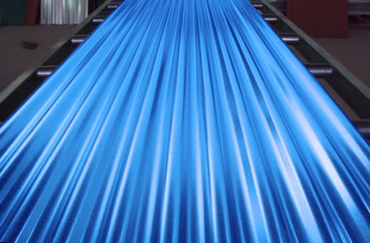 A comprehensive range of roofing sheets in a choice of colours and materials