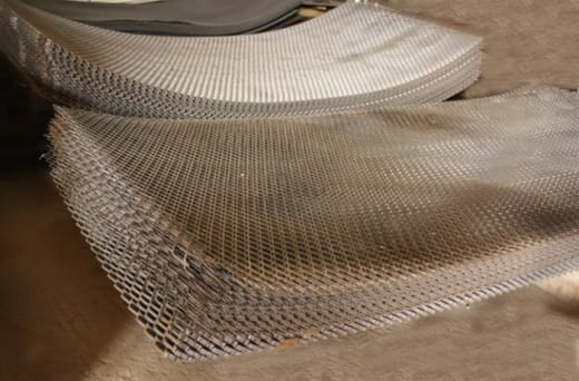 Diamond mesh