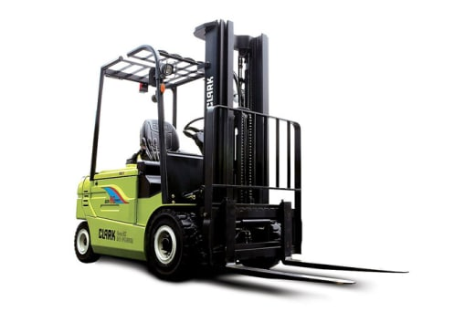 Clark forklifts available at Keegy Limited