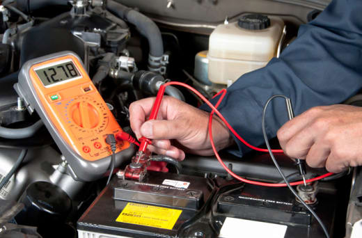 Repair and maintenance of auto electrical systems