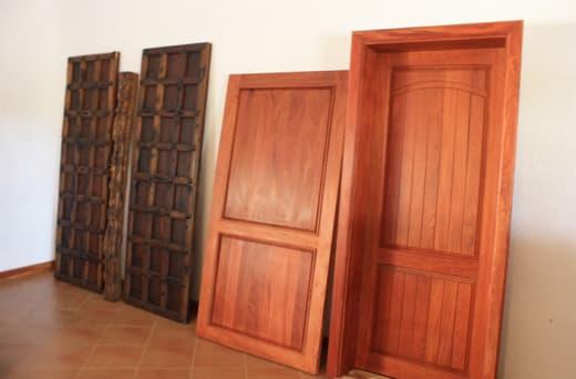 Customised wooden doors, windows as well as ironmongery and door controls