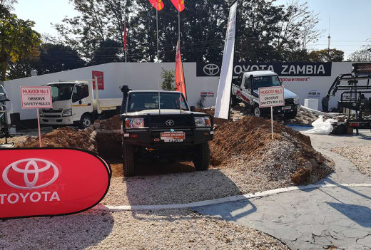 Toyota participates in Agricultural and Commercical Show