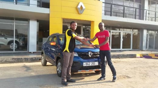 First Renault KWID Climber sold in Zambia