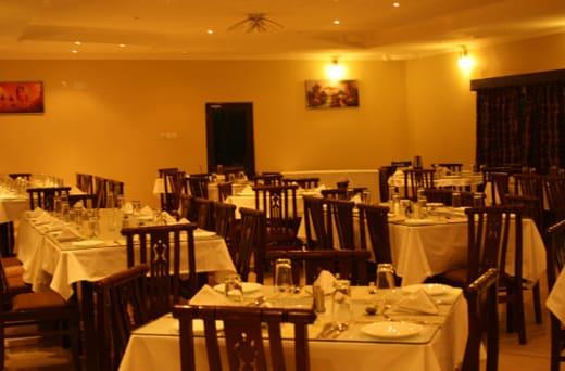 Mahak restaurant layout