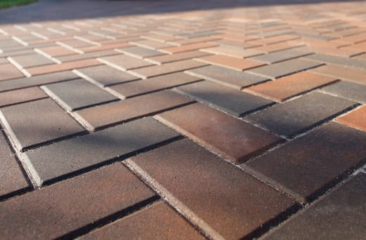Pavers produced under extreme hydraulic pressure