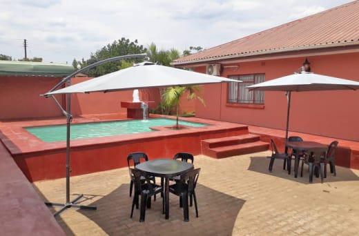 Conveniently located 2.5 kilometers from the Harry Mwanga Nkumbula international airport