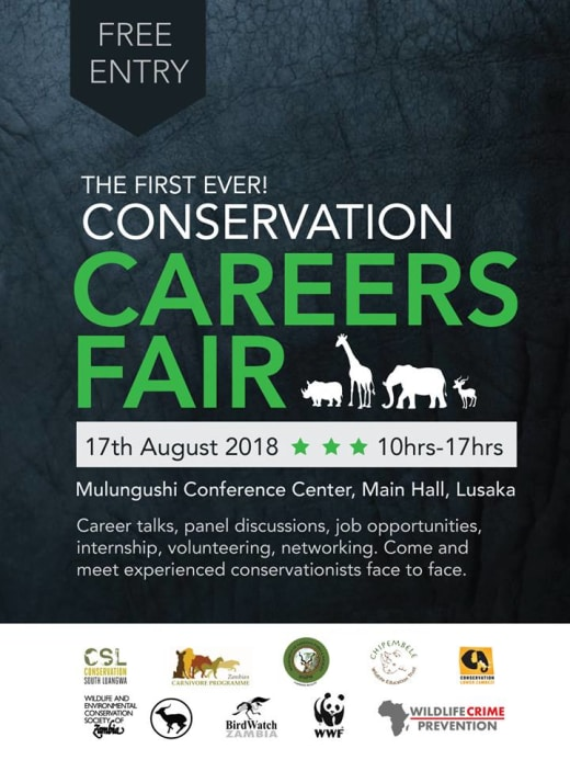 Conservation Careers Fair - Event by Mulungushi International