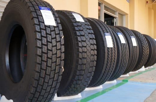 A full range of tyres and batteries