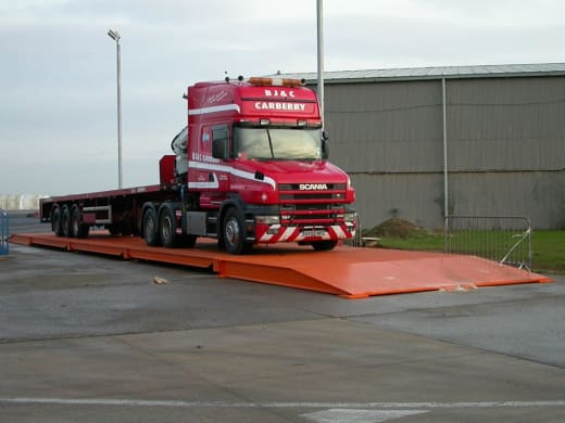 Weighbridges available with civil engineering packages