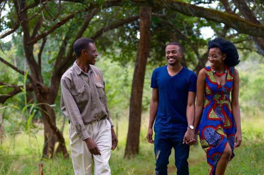 Walking Safari experience at Lilayi Lodge