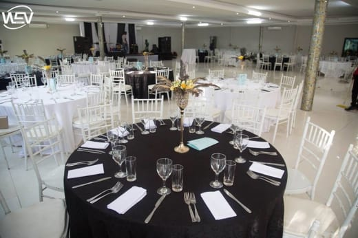 Wedding venue and services available