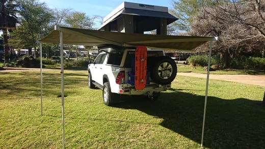 Camping accessories for 4x4 vehicles