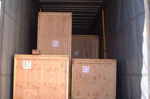 Customised logistics services