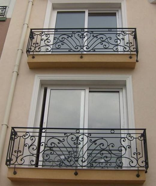 Create or transform a boring balcony into a modern and comfortable looking seating space with high quality railings