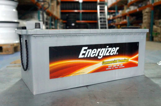 Energizer and Enertec batteries